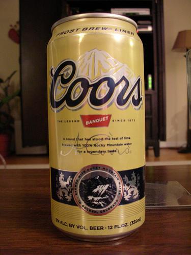 Coors Banquet Beer Losangeles